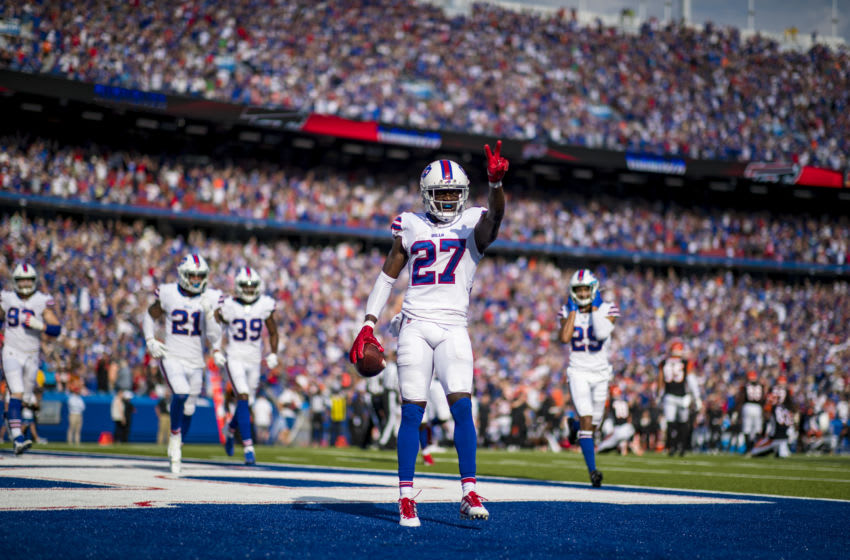 Tre'Davious White #27 of the Buffalo Bills. (Photo by Brett Carlsen/Getty Images)
