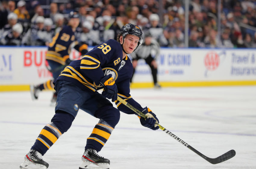 Victor Olofsson #68 of the Buffalo Sabres. (Photo by Timothy T Ludwig/Getty Images)