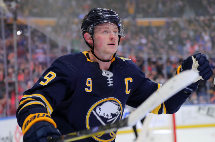 Jack Eichel of the Buffalo Sabres. (Photo by Timothy T Ludwig/Getty Images)