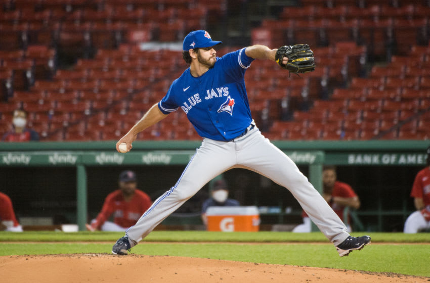 Jordan Romano of the Toronto Blue Jays. (Photo by Kathryn Riley/Getty Images)