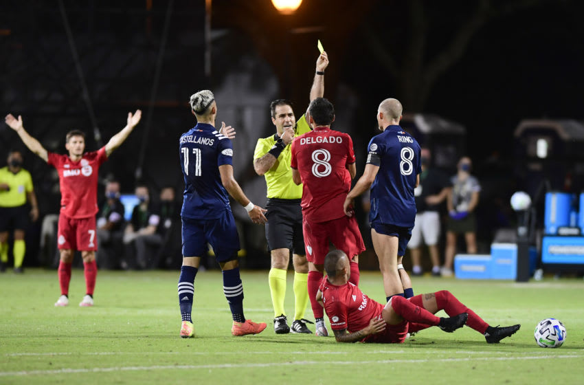Toronto FC and New York City FC. (Photo by Emilee Chinn/Getty Images)