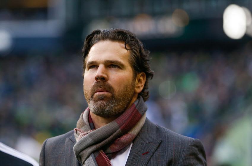 Toronto FC head coach Greg Vanney. (Jennifer Buchanan-USA TODAY Sports)