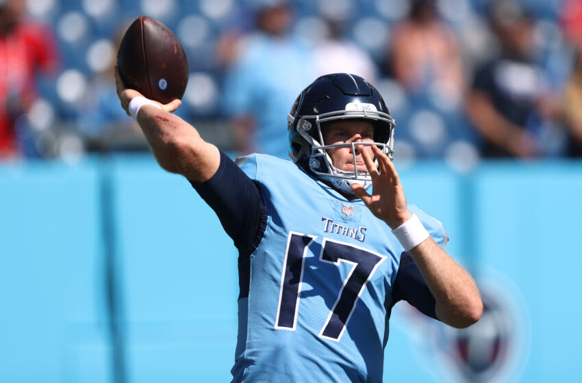 Ryan Tannehill #17, Tennessee Titans (Photo by Silas Walker/Getty Images)