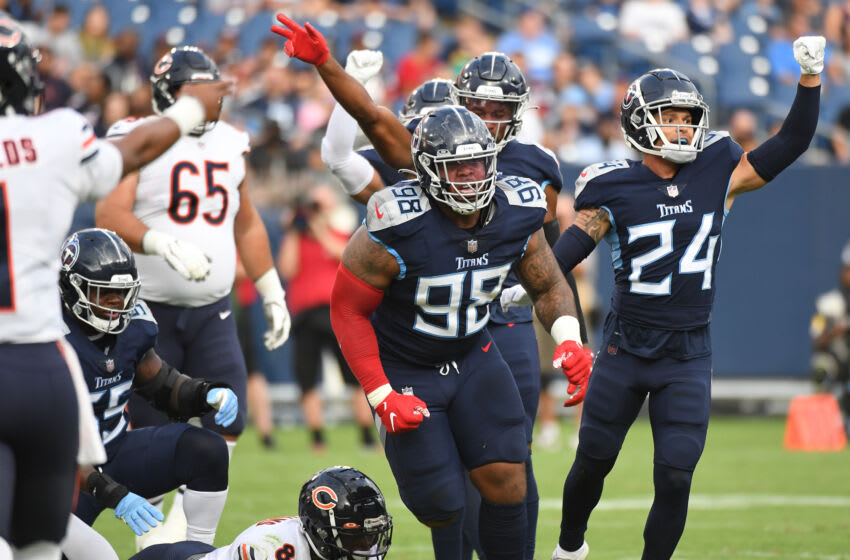 Tennessee Titans Mandatory Credit: Christopher Hanewinckel-USA TODAY Sports