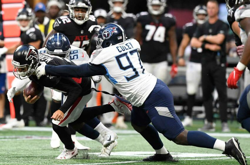 Trevon Coley #97, Tennessee Titans (Mandatory Credit: USA TODAY Sports Images photo pool)