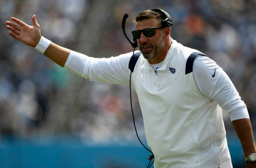 Mike Vrabel, Tennessee Titans (Mandatory Credit: Imagn Images photo pool)