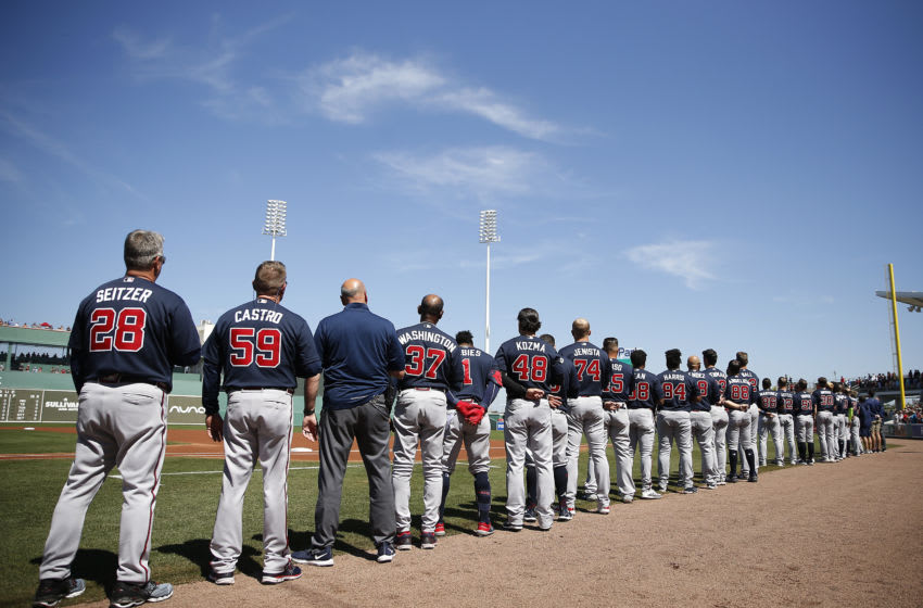 Which Atlanta Braves might we see with an extended roster? (Photo by Michael Reaves/Getty Images)
