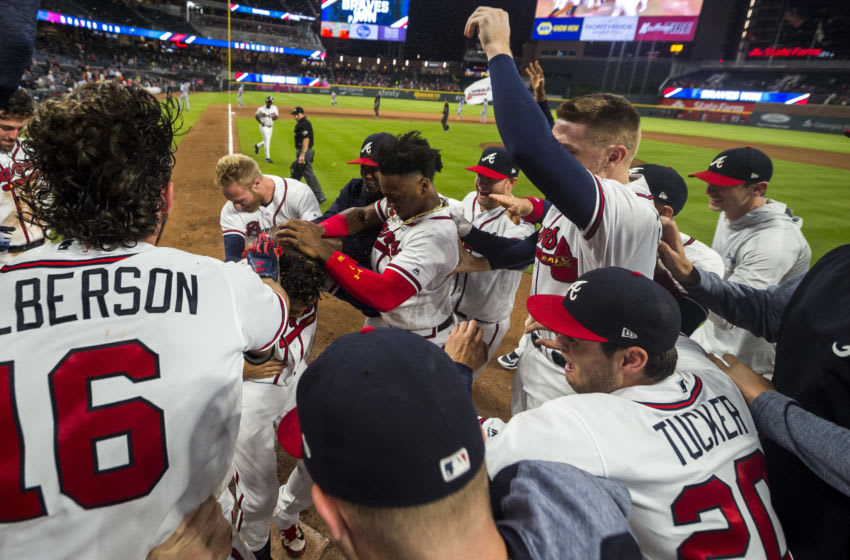 If the Atlanta Braves are forced to accept tie games, you'd have fewer of these walk-off moments.(Photo by Logan Riely/Beam Imagination/Atlanta Braves/Getty Images)