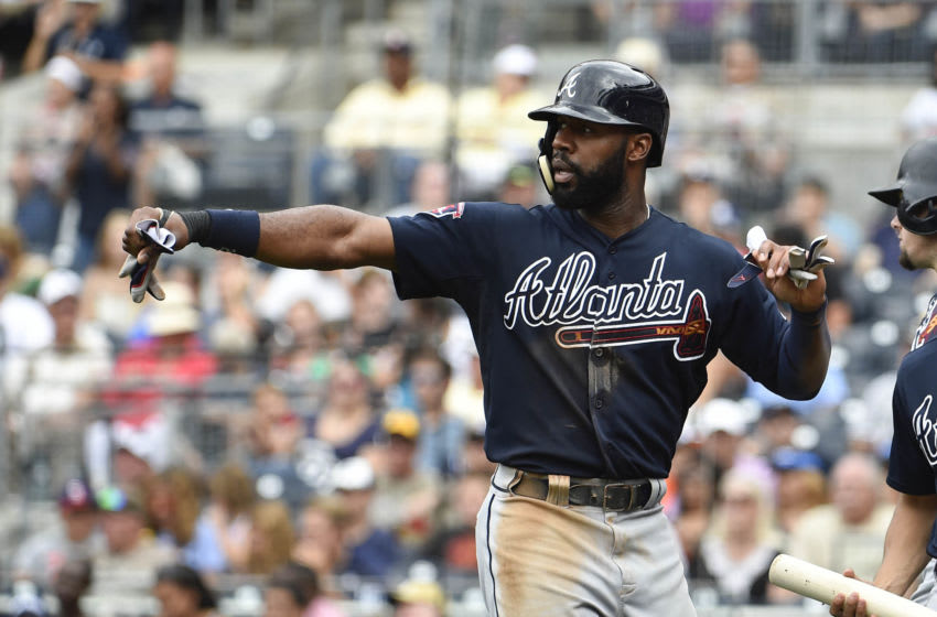 Jason Heyward, Atlanta Braves (Photo by Denis Poroy/Getty Images)