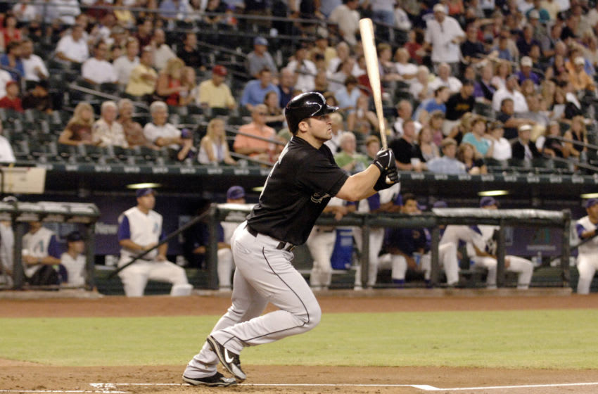 The Atlanta Braves hope to find a bat as good as Dan Uggla was when the Marlins selected him in 2005. (Photo by A. Messerschmidt/Getty Images)
