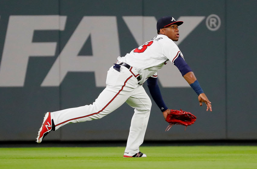 Ronald Acuna Jr. of the Atlanta Braves (Photo by Kevin C. Cox/Getty Images)