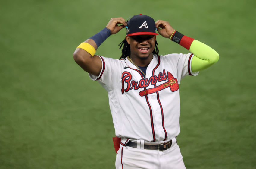 Atlanta Braves outfielder Ronald Acuna Jr. Mandatory Credit: Kevin Jairaj-USA TODAY Sports