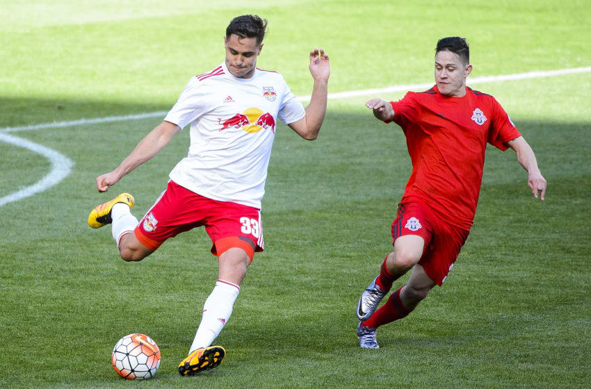 Photo courtesy of: NYRB New York Red Bulls II take on Toronto FC II on Saturday, March 26, 2016 at Red Bull Arena in Harrison, NJ.