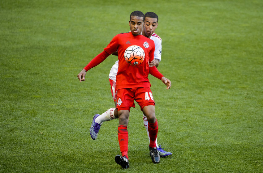 Photo courtesy of: NYRB II. New York Red Bulls II take on Toronto FC II on Saturday, March 26, 2016 at Red Bull Arena in Harrison, NJ.