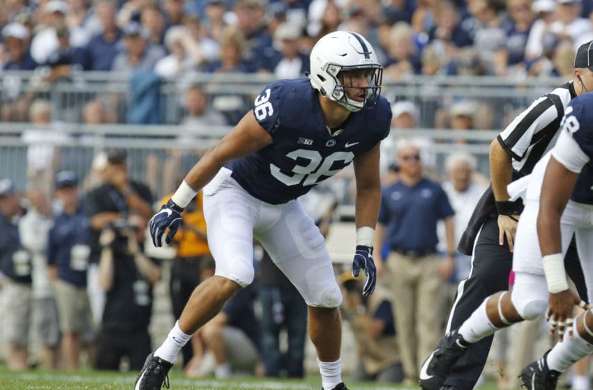 Jan Johnson #36 of the Penn State Nittany Lions (Photo by Justin K. Aller/Getty Images)