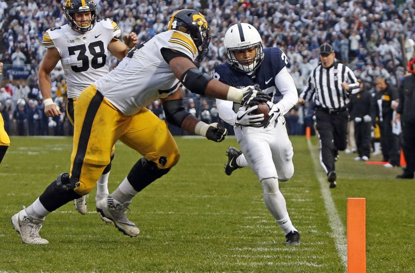 John Reid #29 of the Penn State Nittany Lions (Photo by Justin K. Aller/Getty Images)