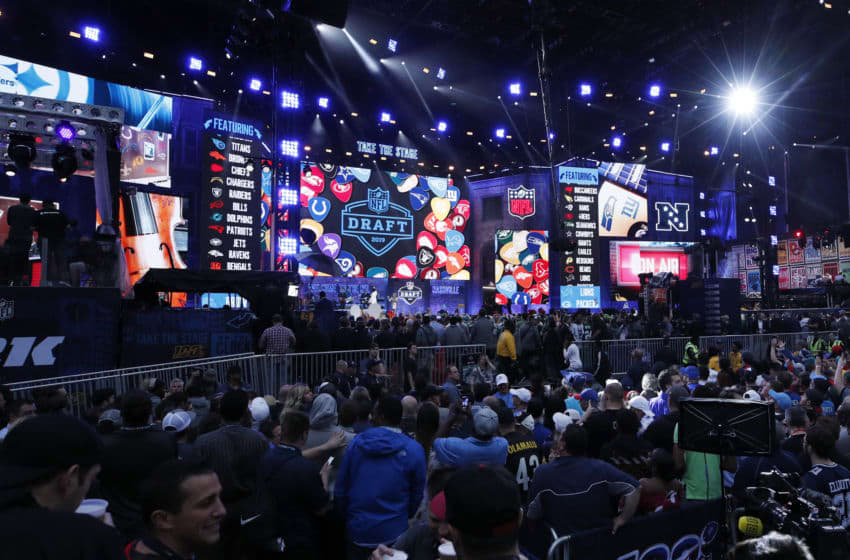 NASHVILLE, TN - APRIL 25: General view prior to the start of the first round of the NFL Draft on April 25, 2019 in Nashville, Tennessee. (Photo by Joe Robbins/Getty Images)