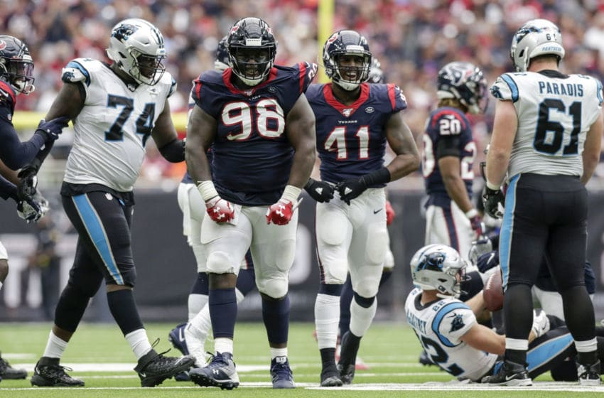 D.J. Reader #98 of the Houston Texans (Photo by Tim Warner/Getty Images)