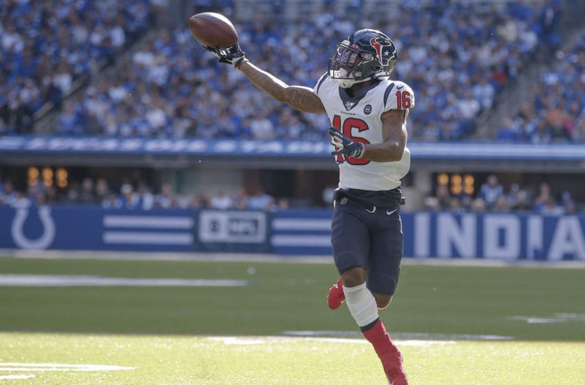 Keke Coutee #16 of the Houston Texans (Photo by Michael Hickey/Getty Images)