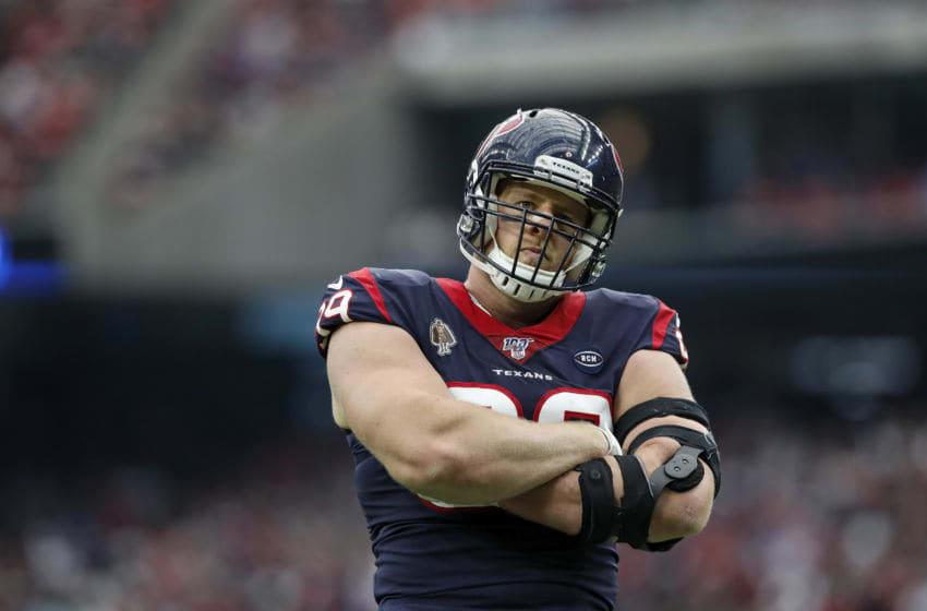 J.J. Watt #99 of the Houston Texans (Photo by Tim Warner/Getty Images)