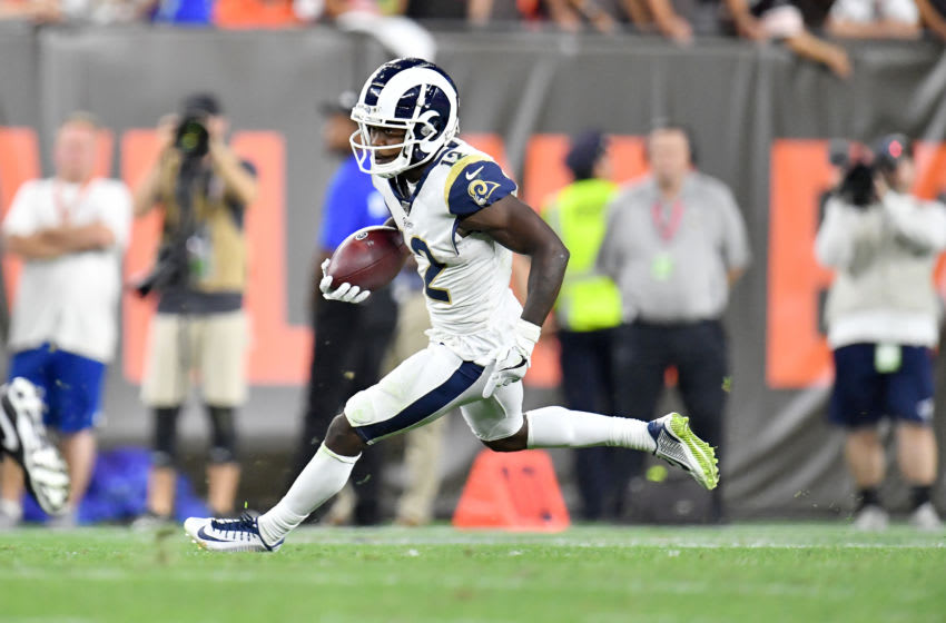 Brandin Cooks Los Angeles Rams (Photo by Jason Miller/Getty Images)