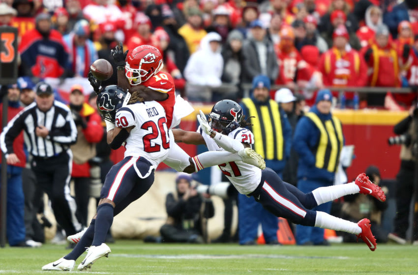 Justin Reid Bradley Roby of the Houston Texans (Photo by Jamie Squire/Getty Images)