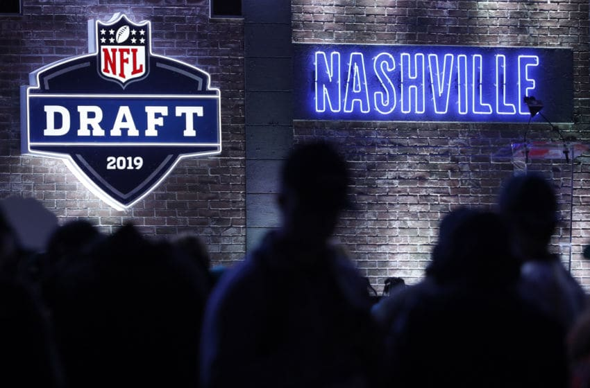 NASHVILLE, TN - APRIL 25: General view during the first round of the NFL Draft on April 25, 2019 in Nashville, Tennessee. (Photo by Joe Robbins/Getty Images)