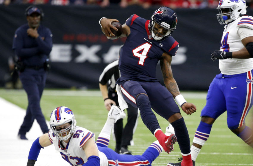 Deshaun Watson #4 of the Houston Texans (Photo by Bob Levey/Getty Images)