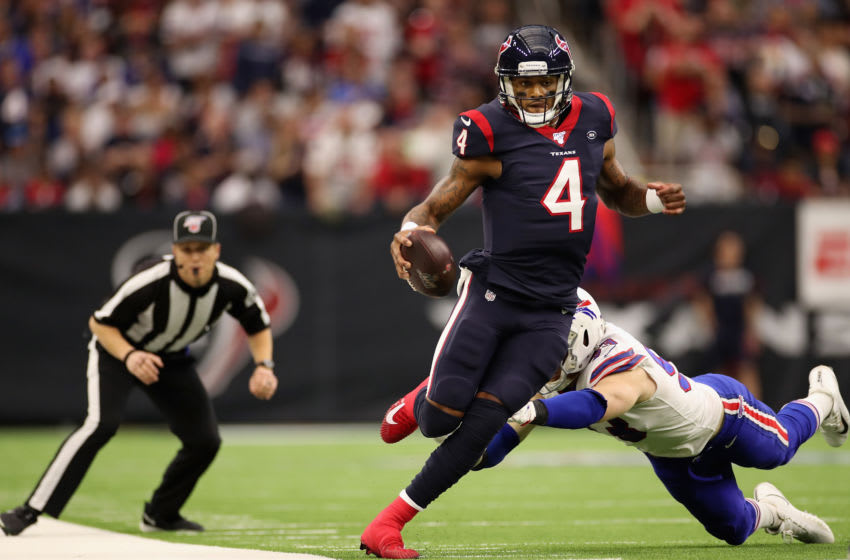 Deshaun Watson #4 of the Houston Texans (Photo by Christian Petersen/Getty Images)