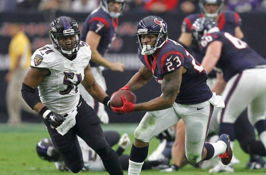Arian Foster, Houston Texans. (Photo by Bob Levey/Getty Images)
