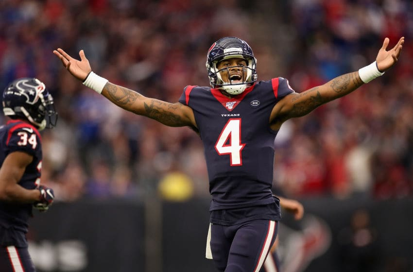 Deshaun Watson #4 of the Houston Texans - (Photo by Christian Petersen/Getty Images)