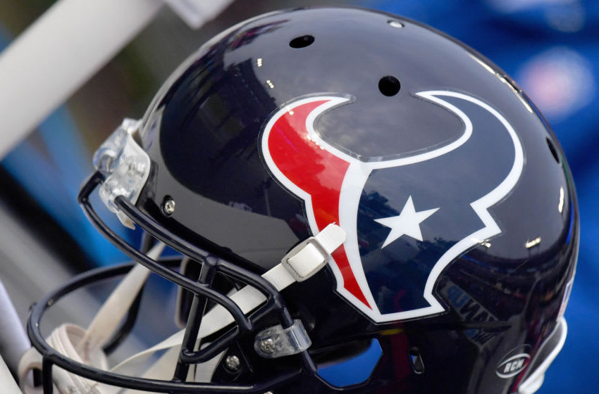 Houston Texans helmet Mandatory Credit: Jim Brown-USA TODAY Sports