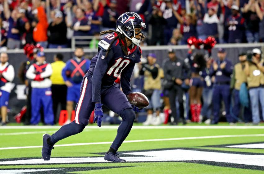 Houston Texans wide receiver DeAndre Hopkins (10) Mandatory Credit: Kevin Jairaj-USA TODAY Sports