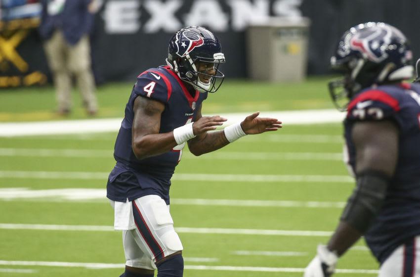 Houston Texans quarterback Deshaun Watson (4) Mandatory Credit: Troy Taormina-USA TODAY Sports