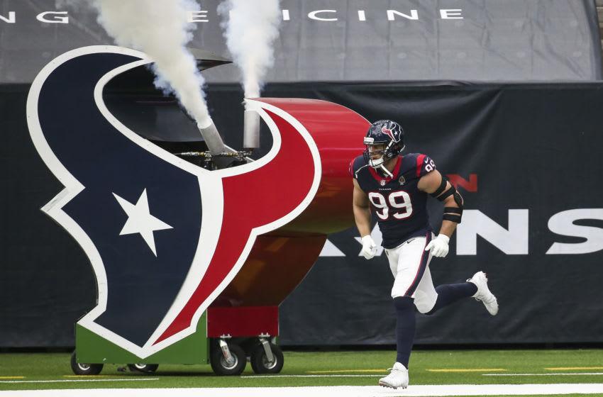 Houston Texans defensive end J.J. Watt (99) Mandatory Credit: Troy Taormina-USA TODAY Sports