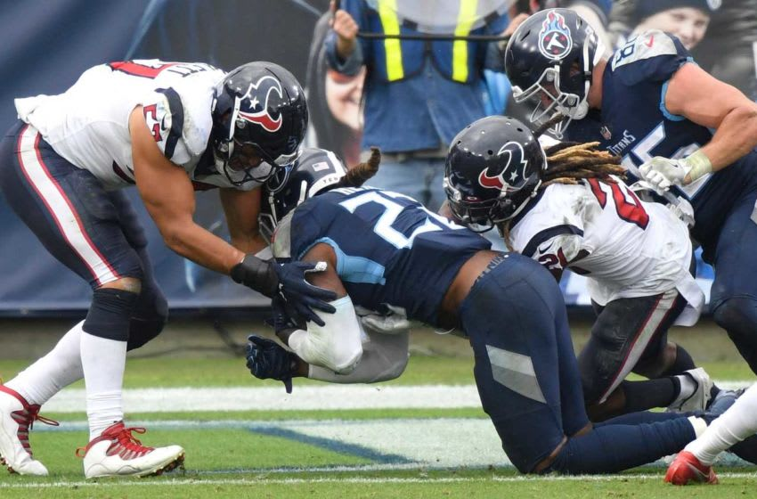 Derrick Henry (22) scores touchdown to beat the Houston Texans. An54960