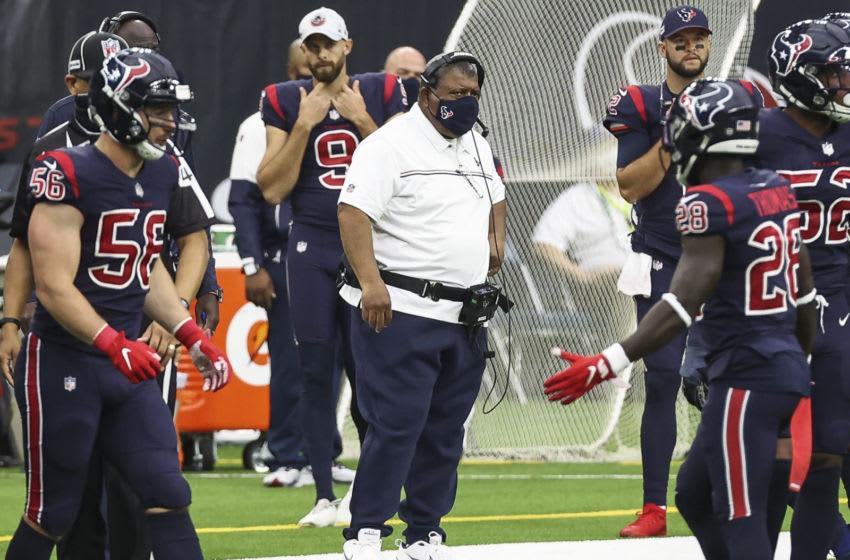 Houston Texans head coach Romeo Crennel Mandatory Credit: Troy Taormina-USA TODAY Sports
