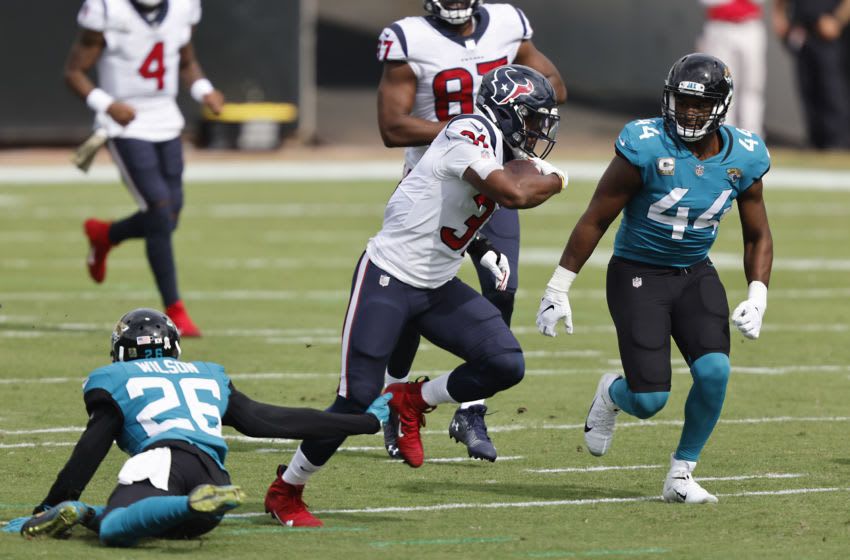 Houston Texans running back David Johnson (31) Mandatory Credit: Reinhold Matay-USA TODAY Sports
