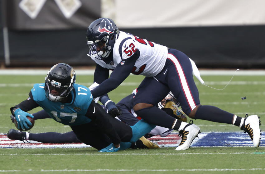 Houston Texans Jonathan Greenard (52) Mandatory Credit: Reinhold Matay-USA TODAY Sports
