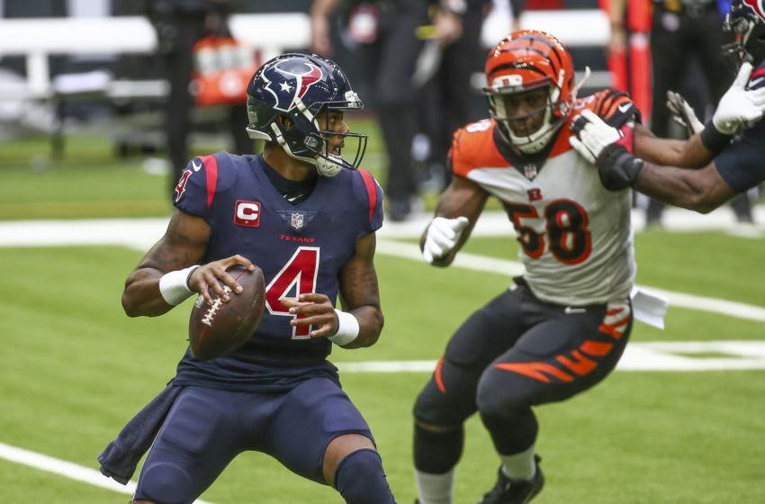Houston Texans quarterback Deshaun Watson Mandatory Credit: Troy Taormina-USA TODAY Sports