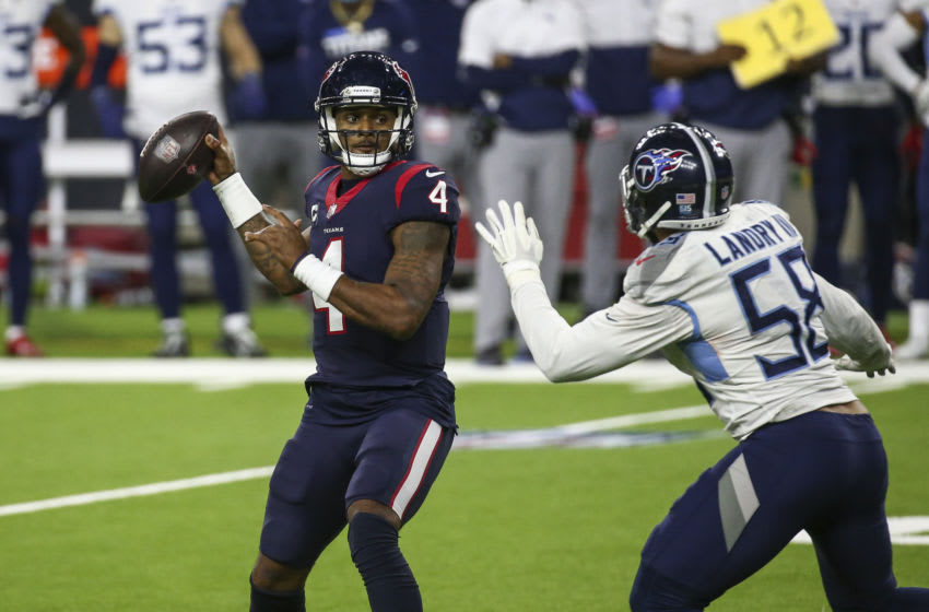 Houston Texans quarterback Deshaun Watson Mandatory Credit: Troy Taormina-USA TODAY Sports