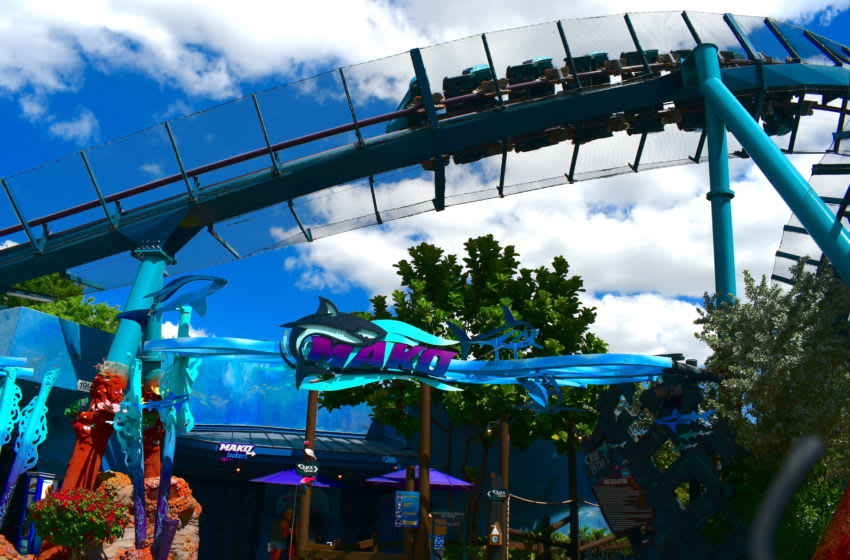 The fastest roller coaster at SeaWorld park in Orlando. Photo by Brian Miller