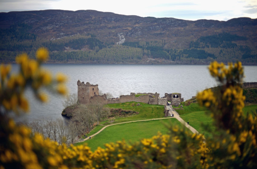 INVERNESS, SCOTLAND - APRIL 16: A general view of Urquhart Castle, Drumnadrochit on April 16, 2014 in Scotland. A referendum on whether Scotland should be an independent country will take place on September 18, 2014. (Photo by Jeff J Mitchell/Getty Images)