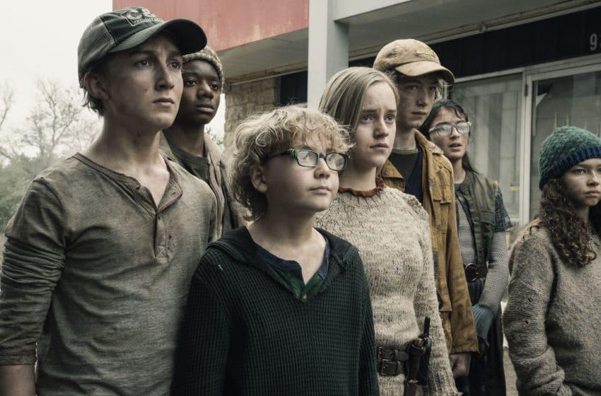 Ethan Suess as Max, Cooper Dodson as Dylan, Bailey Gavulic as Annie- Fear the Walking Dead _ Season 5, Episode 6 - Photo Credit: Van Redin/AMC