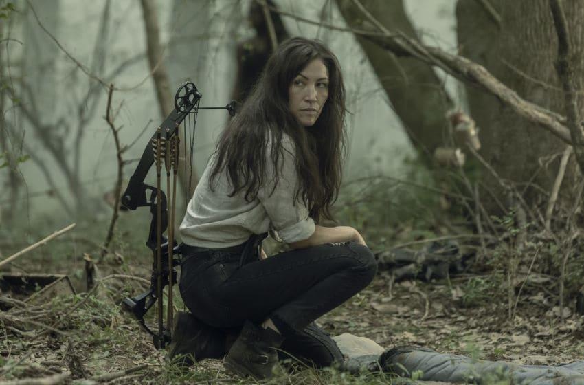 Eleanor Matsuura as Yumiko, Danai Gurira as Michonne - The Walking Dead _ Season 10 - Photo Credit: Jackson Lee Davis/AMC