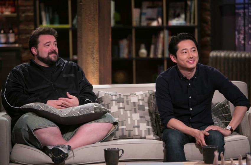 Kevin Smith and The Walking Dead's Steven Yeun - Talking Dead, AMC