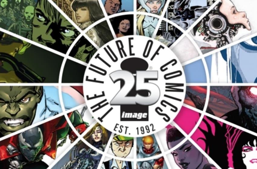Image Comics 25th anniversary promotional artwork - Image Comics