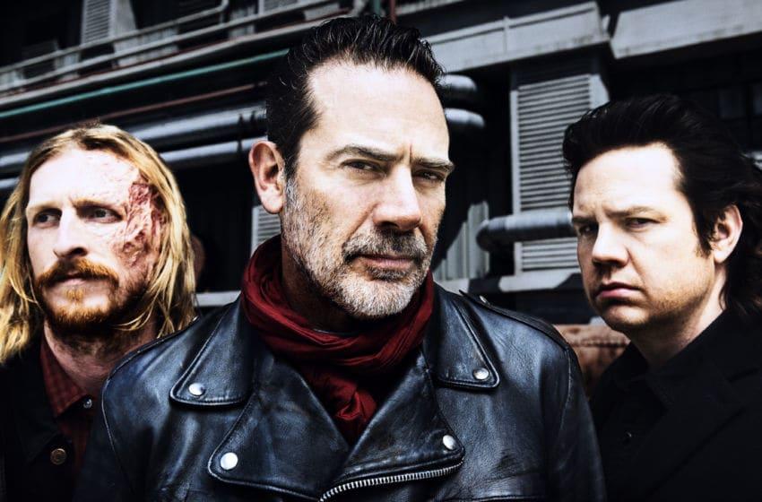 Jeffrey Dean Morgan as Negan, Josh McDermitt as Dr. Eugene Porter, Austin Amelio as Dwight- The Walking Dead _ Season 8, Gallery - Photo Credit: Alan Clarke/AMC