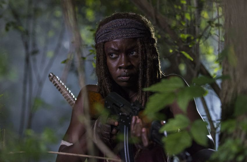 Danai Gurira as Michonne - The Walking Dead _ Season 8, Episode 8 - Photo Credit: Gene Page/AMC