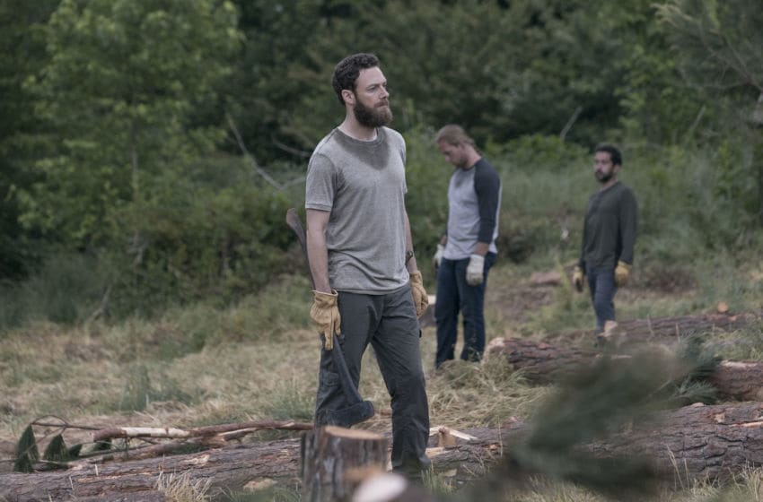 Ross Marquand as Aaron- The Walking Dead _ Season 9, Episode 2 - Photo Credit: Jackson Lee Davis/AMC